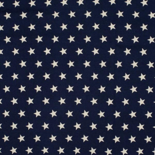 DEAL Jersey Sterne marine/weiß