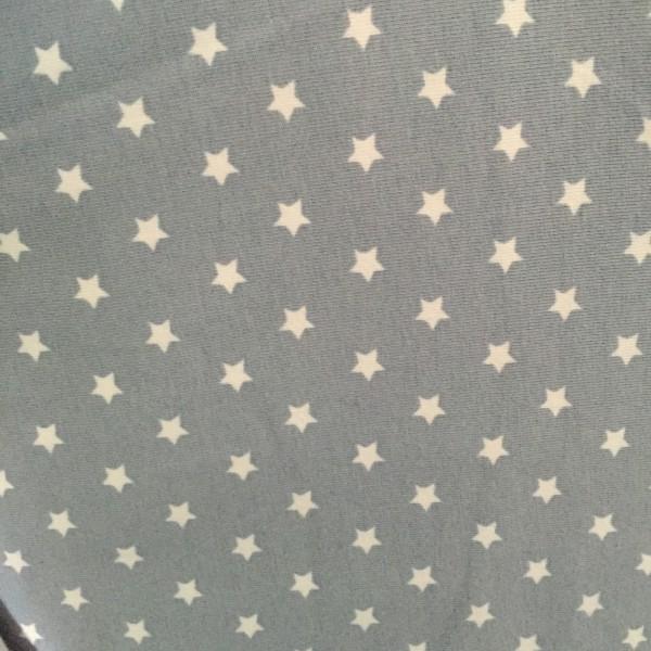 DEAL Jersey Stars Mini von Stenzo hellgrau/weiß 8 mm