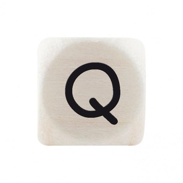 Premiumbuchstabe 10 mm schwarz Q