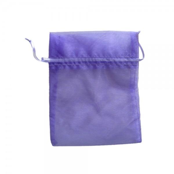 Angebot Organzasäckchen 15 x 10 cm lila