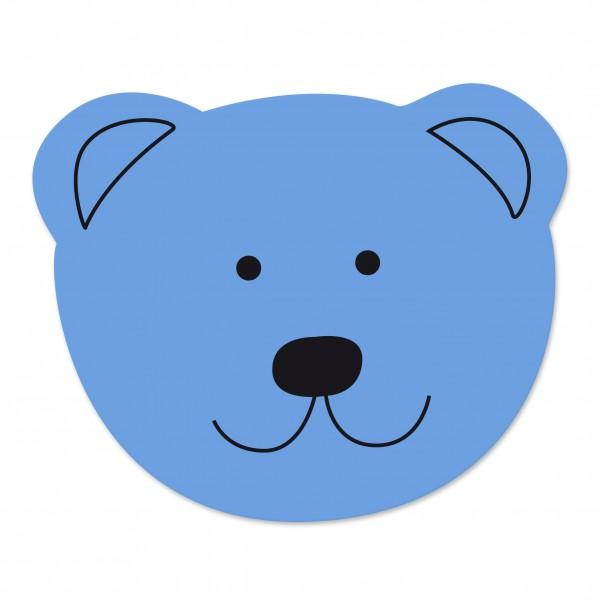 Angebot Motivperle Maxi-Bär vertikal hellblau