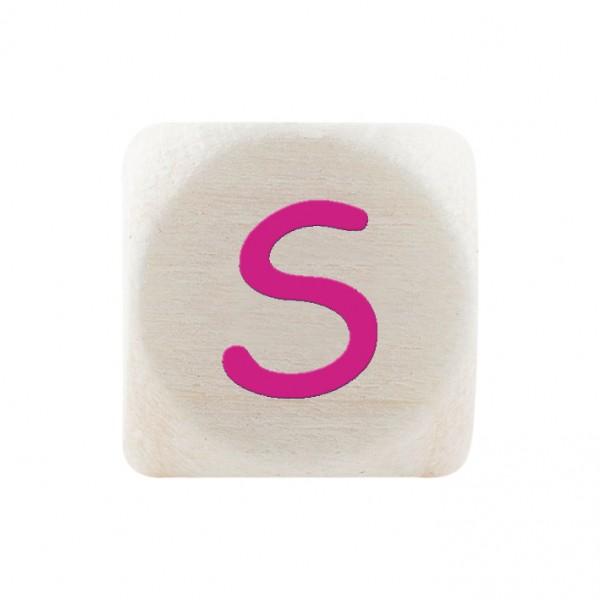 Angebot Premiumbuchstabe 10 mm magenta S
