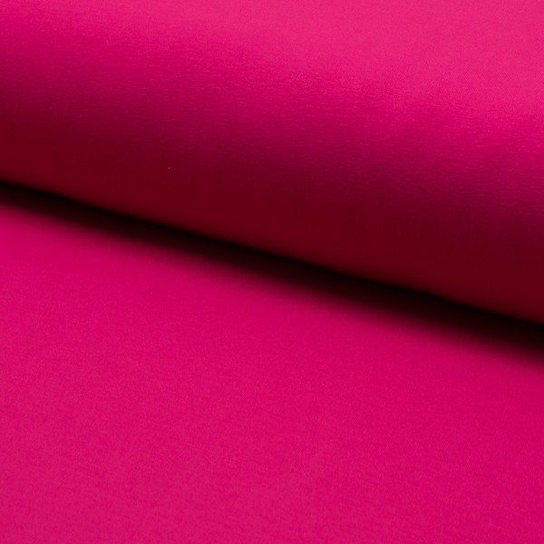 French Terry brushed Wintersweat fuchsia