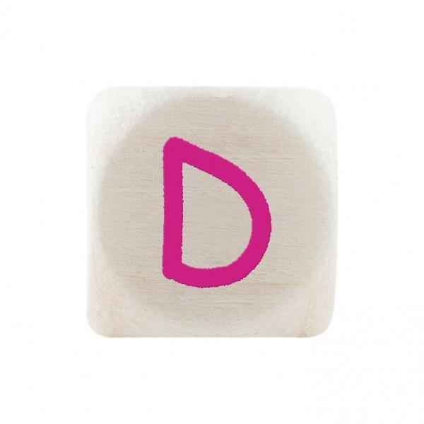 Angebot Premiumbuchstabe 10 mm magenta D