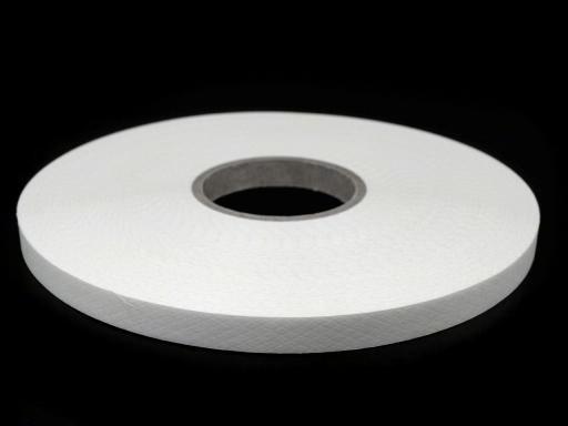 100m Bügelband Breite 10 mm weiß