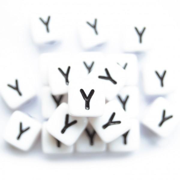 ca. 550 Kunststoffbuchstabenwürfel 10 mm Y