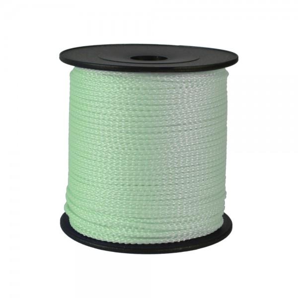 100 m Schnurrolle, 1,5 mm Durchmesser, mint
