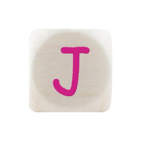 Angebot Premiumbuchstabe 10 mm magenta J