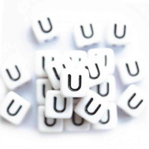 ca. 550 Kunststoffbuchstabenwürfel 10 mm U