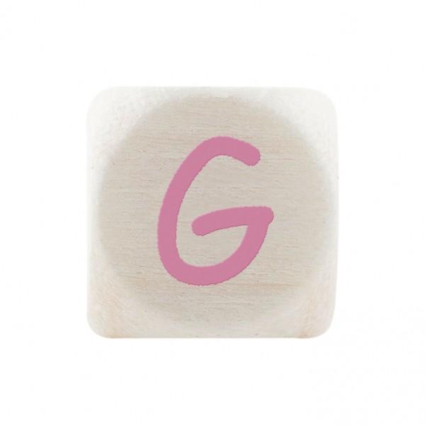Premiumbuchstabe 10 mm rosa G