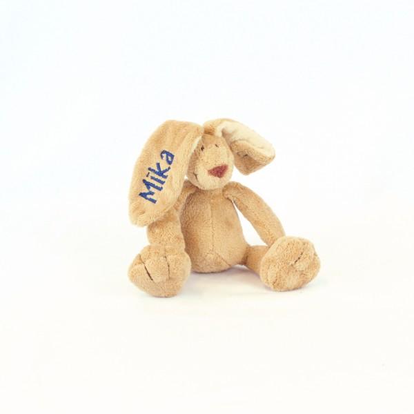 Minihase mit Wunschname marine (Modell Mika)