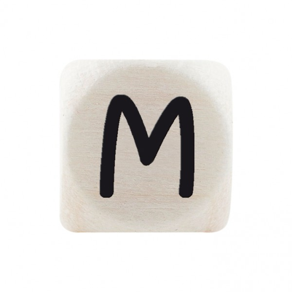 Premiumbuchstabe 10 mm schwarz M