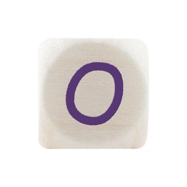 Angebot Premiumbuchstabe 10 mm lila O