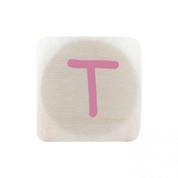 Premiumbuchstabe 10 mm rosa T