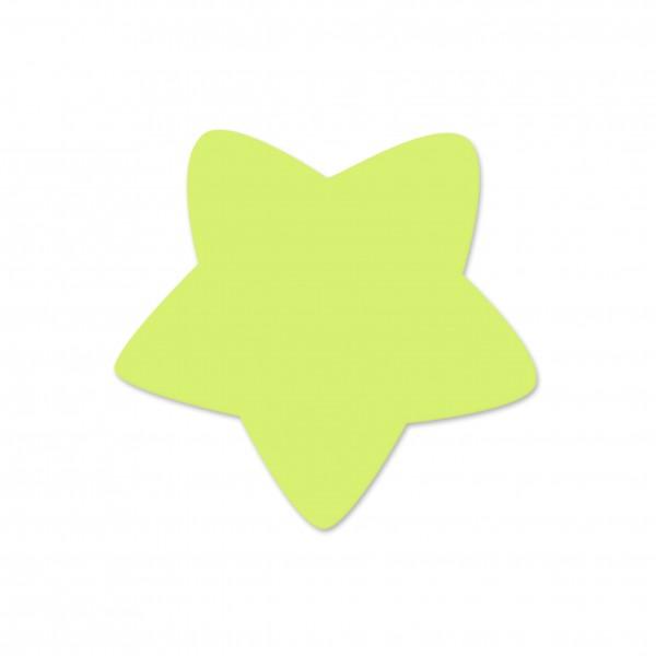 Motivperle Sternchen horizontal lemon