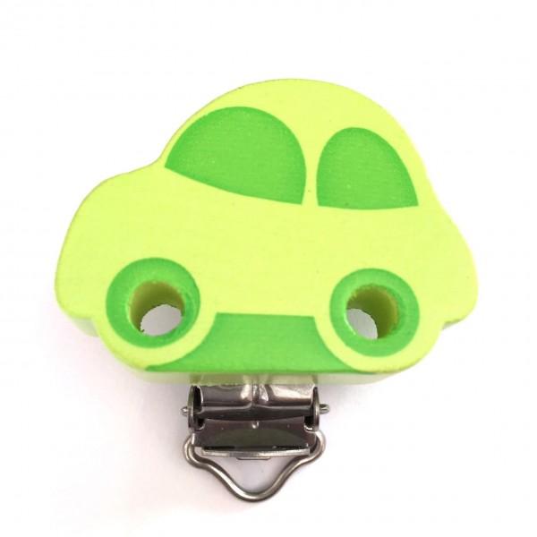 Formclip Auto lemon/apfelgrün