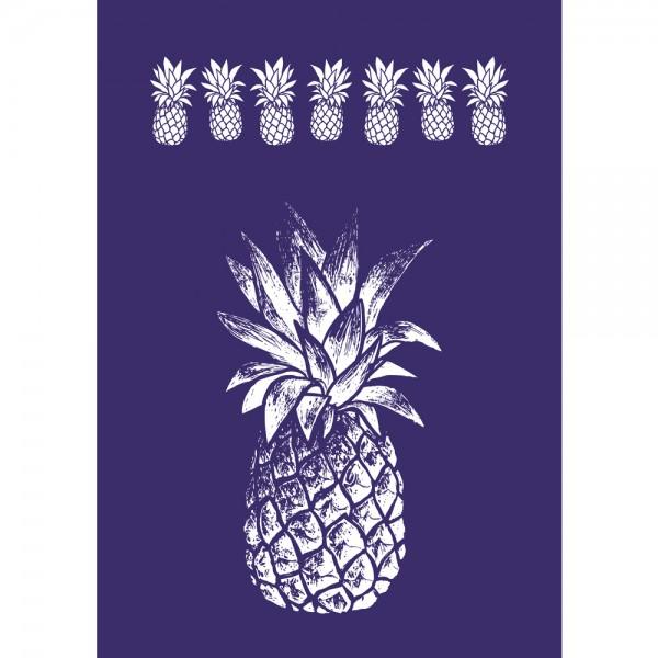 Schablone A4, Ananas