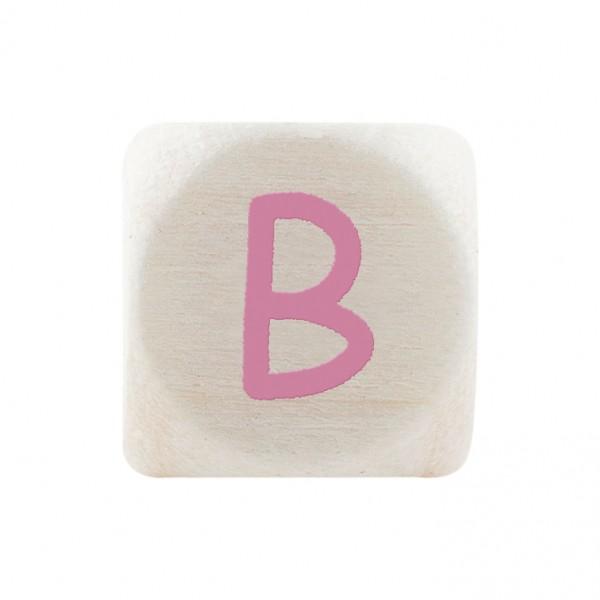 Premiumbuchstabe 10 mm rosa B