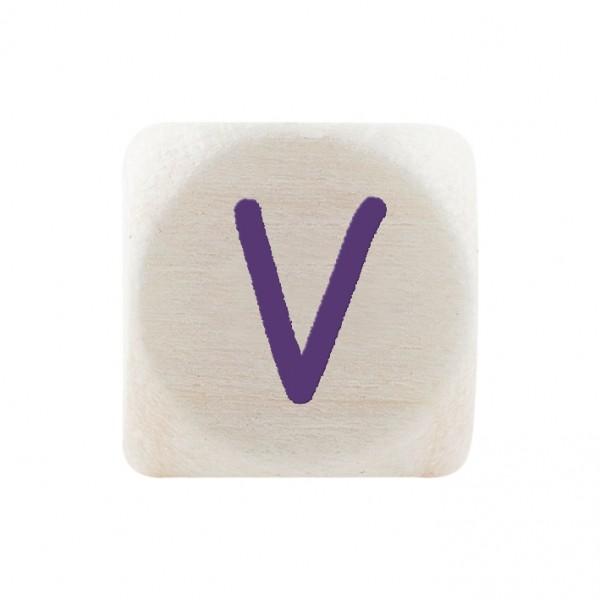 Angebot Premiumbuchstabe 10 mm lila V