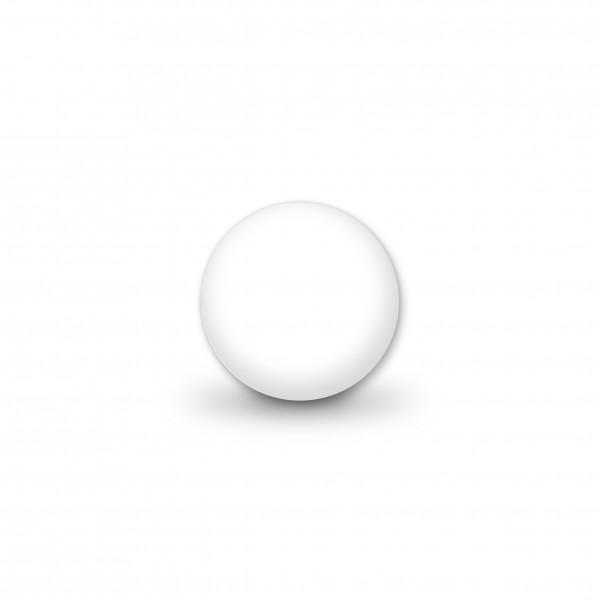 Uniperlen 10 mm weiß