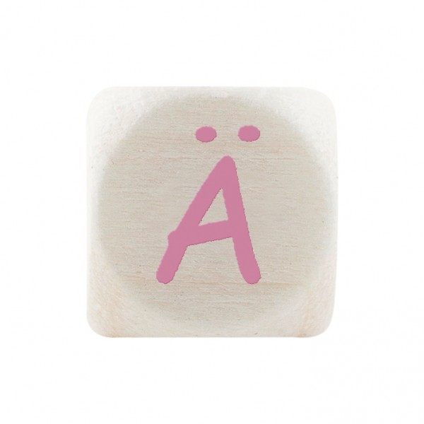 Premiumbuchstabe 10 mm rosa Ä