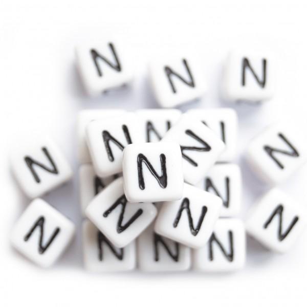 ca. 550 Kunststoffbuchstabenwürfel 10 mm N