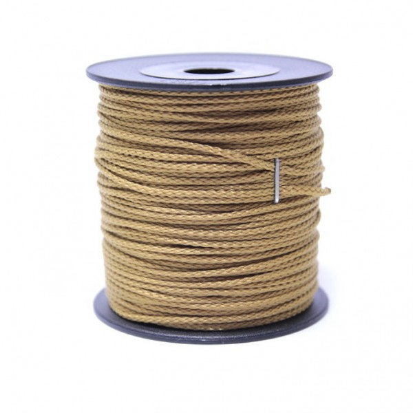 Sale 100 m Schnurrolle, 1,5 mm Durchmesser, gold