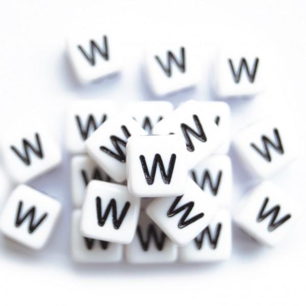 ca. 550 Kunststoffbuchstabenwürfel 10 mm W