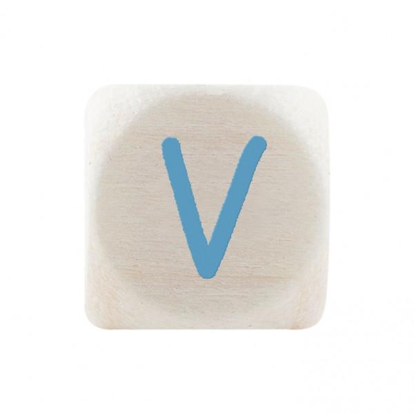 Premiumbuchstabe 10 mm babyblau V