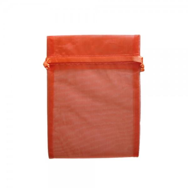 Organzasäckchen 15 x 10 cm orange