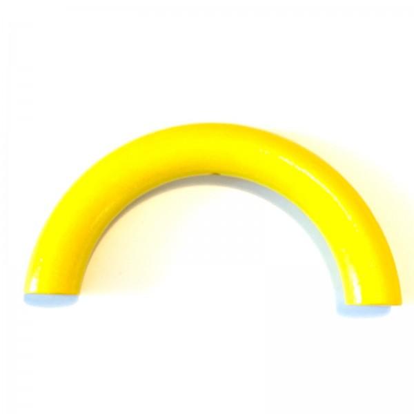 Sale Halbring 100 mm mit Bohrung gelb