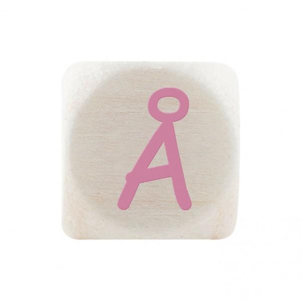 Premiumbuchstabe 10 mm rosa Å