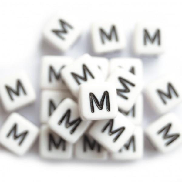 ca. 50 Kunststoffbuchstabenwürfel 10 mm M