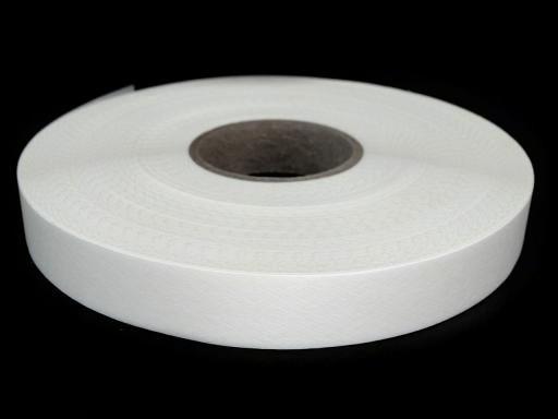 5m Bügelband Breite 20 mm weiß
