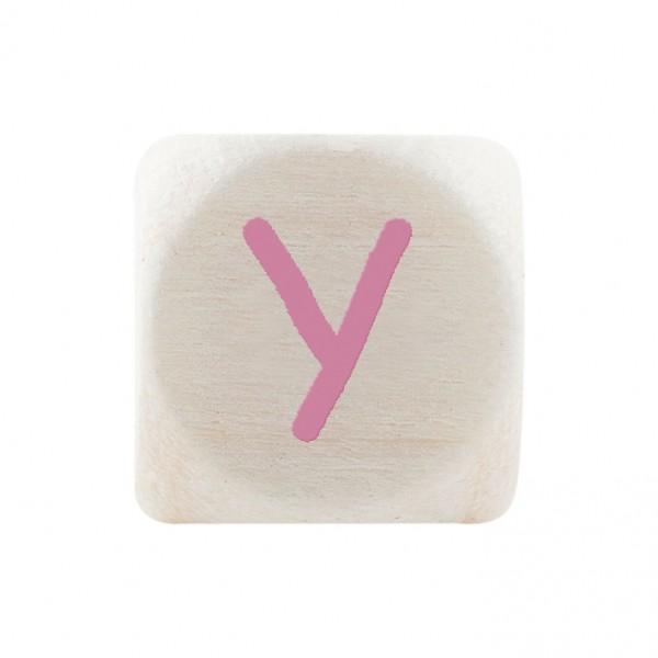 Premiumbuchstabe 10 mm rosa Y