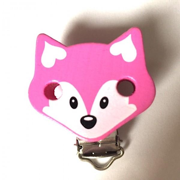 Sale Formclip Fuchs pink/weiß