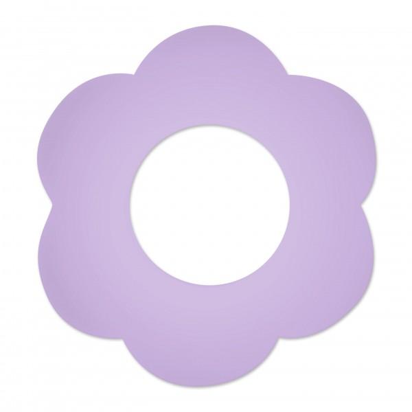 DEAL Motivperle Blume gross horizontal flieder