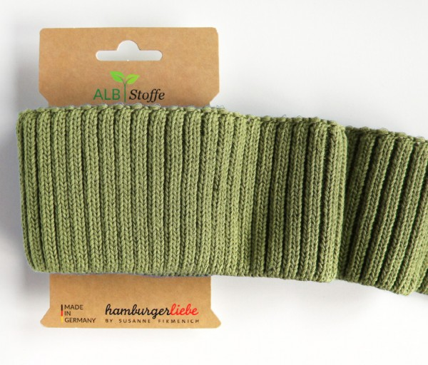 Cuff Me Cozy Grobstrick olive