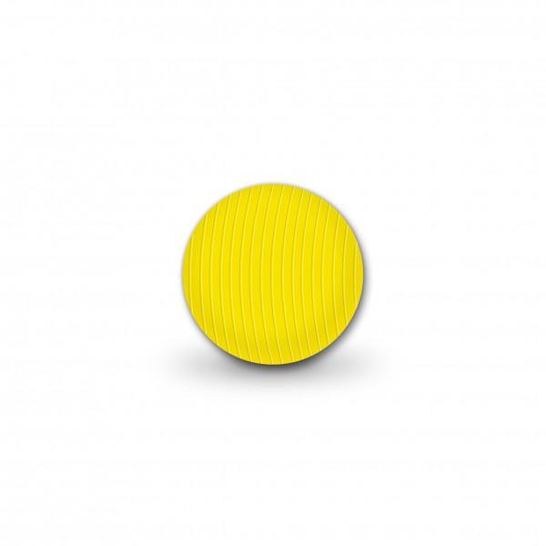 Angebot Rillenperlen gelb