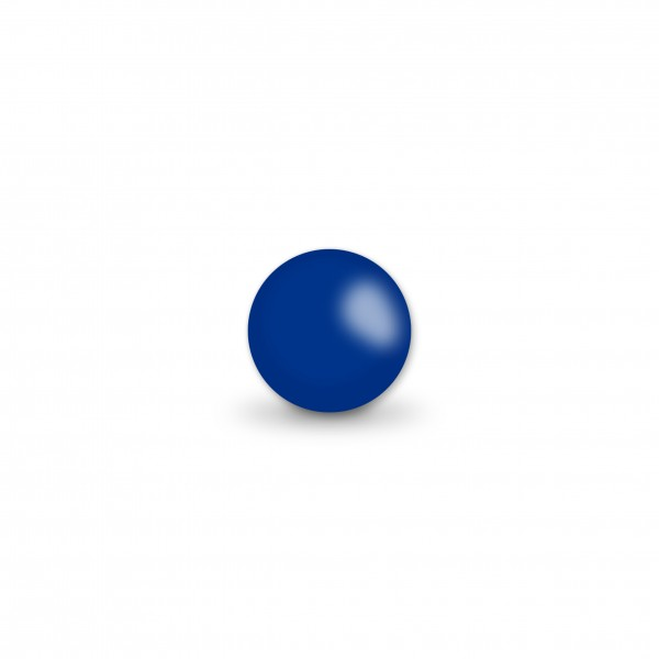 Uniperlen 8 mm dunkelblau