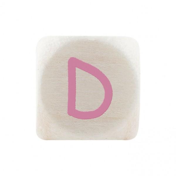 Premiumbuchstabe 10 mm rosa D