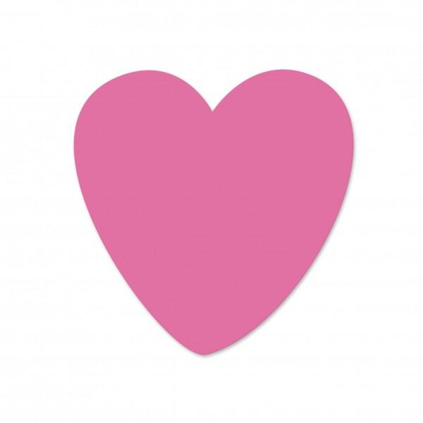 Angebot Motivperle Herzchen vertikal pink
