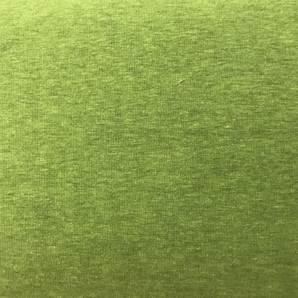dünner melierter Kuschelsweat apfelgrün