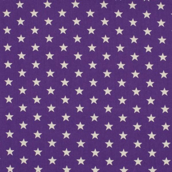 DEAL Jersey Sterne lila/weiß