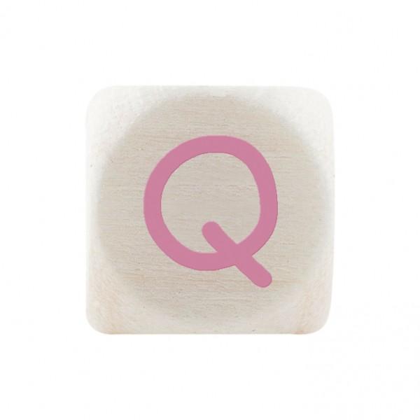 Premiumbuchstabe 10 mm rosa Q