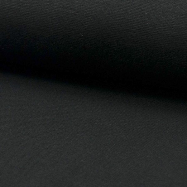 Baumwoll-Bündchen schwarz
