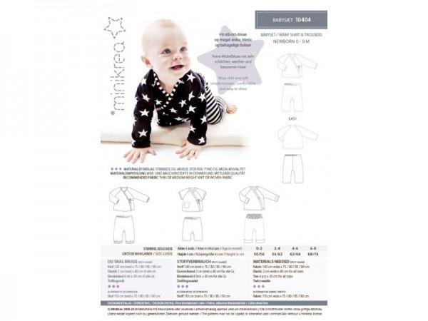 10404- Schnittmuster/Pattern Babyset