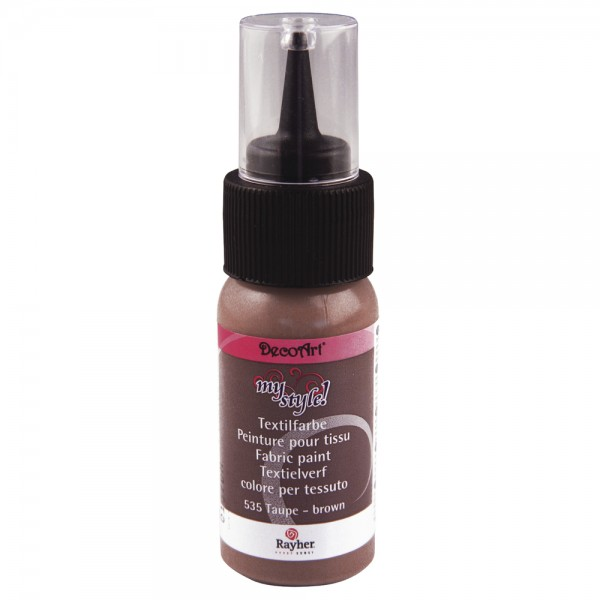 My Style Textilfarbe taupe-brown 29ml