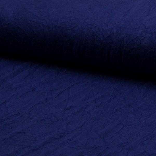 ganz leichter Crashstrick royalblau
