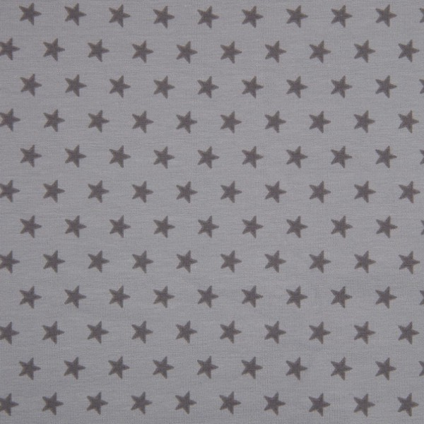 DEAL Jersey Sterne hellgrau/mittelgrau